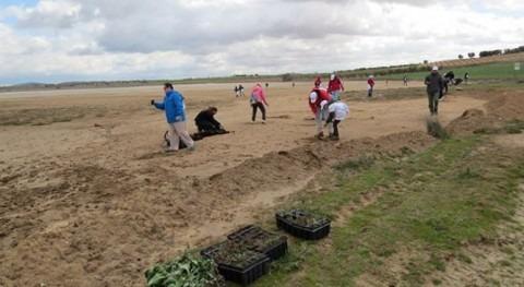 Voluntarios Gas Natural Fenosa contribuyen conservación Laguna Altillo Chico