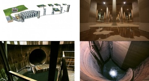 Proyecto G-CANS, alcantarillas Tokyo