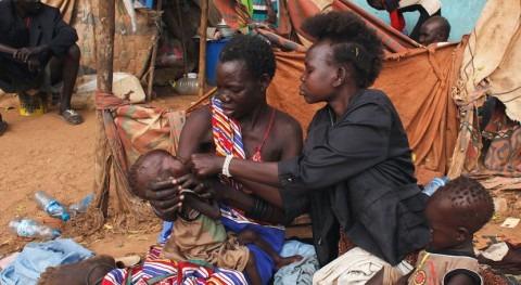 inundaciones dejan Sudán Sur al borde hambruna