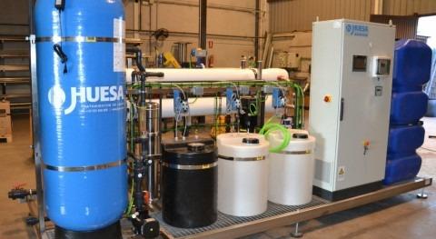 Equipo tratamiento aguas mediante ósmosis inversa