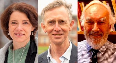 geógrafos Neil Adger, Ian Burton y Karen O'Brien, Premios Fundación BBVA cambio climático