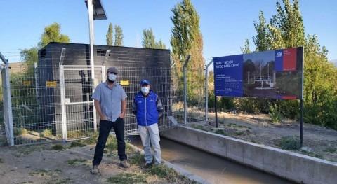 Chile mejora gestión recurso hídrico río Aconcagua compuertas automáticas