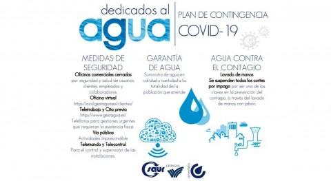 Gestagua garantiza agua calidad y cantidad al 100% usuarios frente al COVID-19