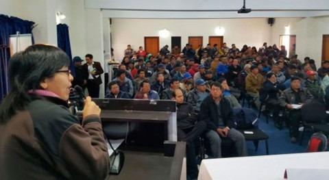 Bolivia socializa planes, proyectos y programas foro gestión metropolitana agua