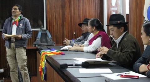 Ecuador dialoga bases Indígenas Gestión Comunitaria Agua