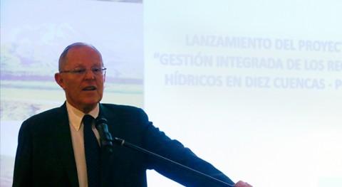 Gobierno Perú optimizará gestión agua 10 cuencas país