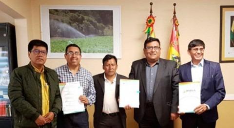 Gobierno boliviano llega acuerdo gestión integral cuenca Quivi Quivi