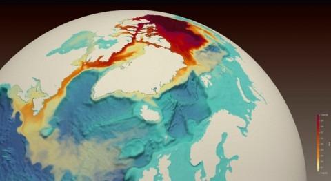 agua dulce que acumula Océano Ártico podría alterar corrientes océanicas globales