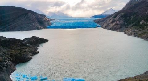 deshielo provoca que volumen lagos glaciares aumente 50% 1990