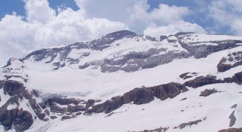 acusado calentamiento actual podría hacer desaparecer Glaciar Monte Perdido