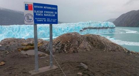Gobierno chileno monitorea glaciares región Aysén