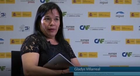 """Gladys Villarreal: """"Panamá no está lejos realidad países europeos temas agua"""""""