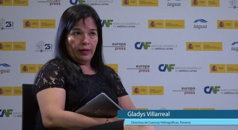 """Gladys Villarreal: """" obstáculo Panamá es debilidad gobernanza agua"""""""