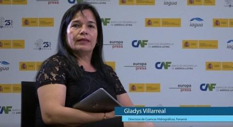 """Gladys Villarreal: """" Panamá debemos actualizar nuestra legislación materia agua"""""""