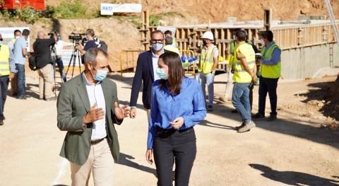 Elisa Valía visita interconexión 2 ETAP al área metropolitana Valencia