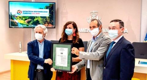 València, primera ciudad mundo que certifica huella carbono actividad turística