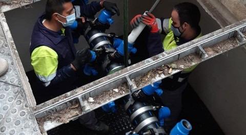 Global Omnium estudiará si hay impacto sabor agua paso tuberías