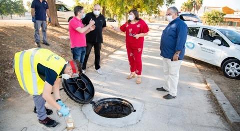 Alcasser continua búsqueda Covid-19 aguas residuales todo municipio