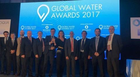 ACCIONA Agua, elegida Mejor Empresa Mundial Agua año