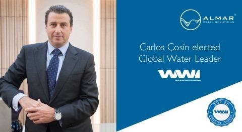 Carlos Cosín, CEO Almar Water Solutions, elegido líder mundial sector agua