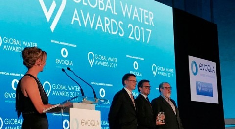 SUEZ gana premio Smart Water Company of the Year Global Water Awards 2017