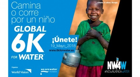 Global 6K For Water: Camina o corre niño