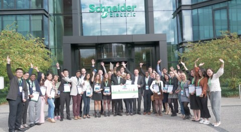 Schneider Electric lanza concurso Go Green in the City 2018