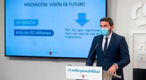 Murcia destina más 80 millones euros control 82 depuradoras agua