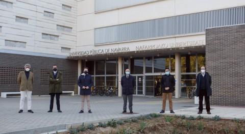 Jardines capaces prevenir inundaciones, nuevo proyecto Gobierno Navarra UPNA