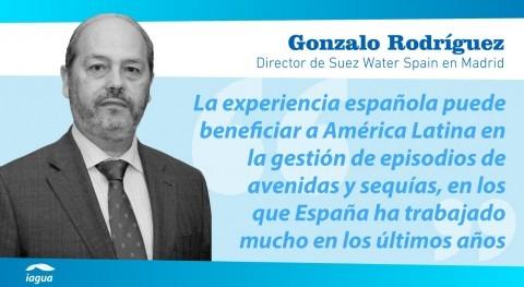 """Gonzalo Rodríguez: """" transmisión conocimiento propicia gobernanza agua sostenible"""""""