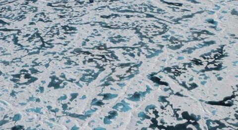 Resuelto misterio hielo verde Ártico