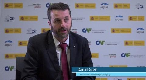"""Daniel Greif: """" agua es oportunidad y vehículo desarrollo social"""""""