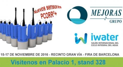 Grupo Mejoras presentará iWater novedades equipamiento ciclo agua