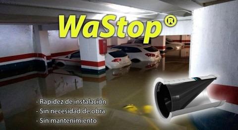 Protección eficaz inundaciones WaStop