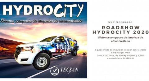 TECSAN organizará RoadShow Hydrocity, nuevos camiones limpieza alcantarillado