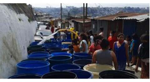 Comienza campaña suministro agua potable zonas vulnerables Guatemala