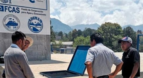 Guatemala dispone nuevo sistema agua 17.000 personas