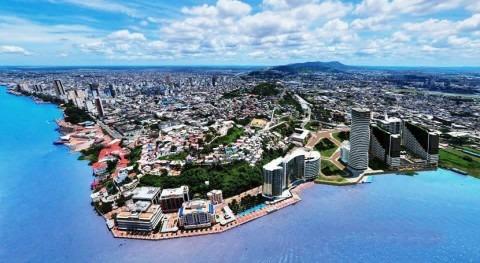 marcha obra saneamiento más grande Ecuador Guayaquil