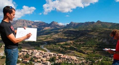 guijarros Pirineo muestran consecuencias cambio climático ríos