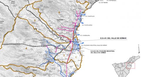 Cadagua construirá EDAR Valle Guímar Tenerife tecnología MBR