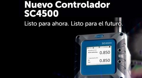 Hach presenta nuevo controlador SC4500: Listo presente, preparado futuro