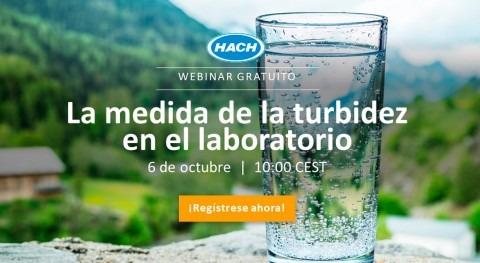 """Hach presenta nuevo Webinar """" medida turbidez laboratorio"""""""