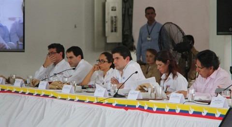 El Ministro Luis Felipe Henao Cardona en el Consejo Regional de Ministros realizado en Monteria