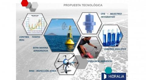 Hidralia implanta proyecto piloto Chiclana detección vertidos aguas baño