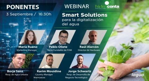 Hidroconta presenta soluciones 'Smart' digitalización agua