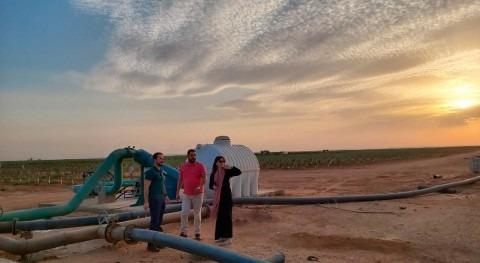 Arabia Saudí monitoriza extracción agua acuíferos subterráneos tecnología española