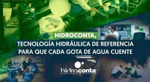 Hidroconta, tecnología hidráulica referencia que cada gota agua cuente