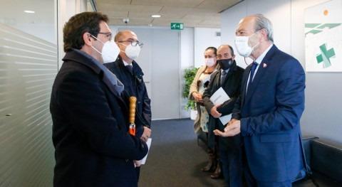 Gobierno cántabro ofrece apoyo Hidrocaleras hidroeléctrica reversible Mioño