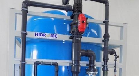Eliminación boro agua medio plantas HEB