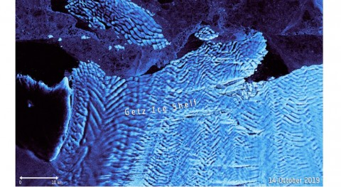 iceberg 35 kilómetros se desprende Antártida Occidental
